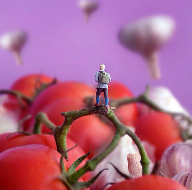 Tiny People's Big Adventures in a World of Food by William Kass-greatinspire (9)