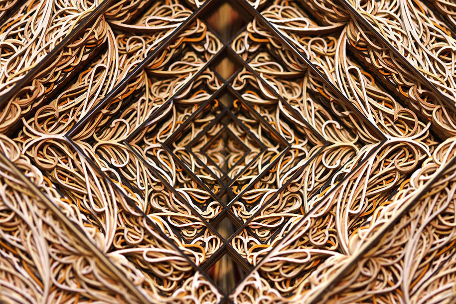 Eric Standley's Unbelievable laser cut paper sculptures (11)
