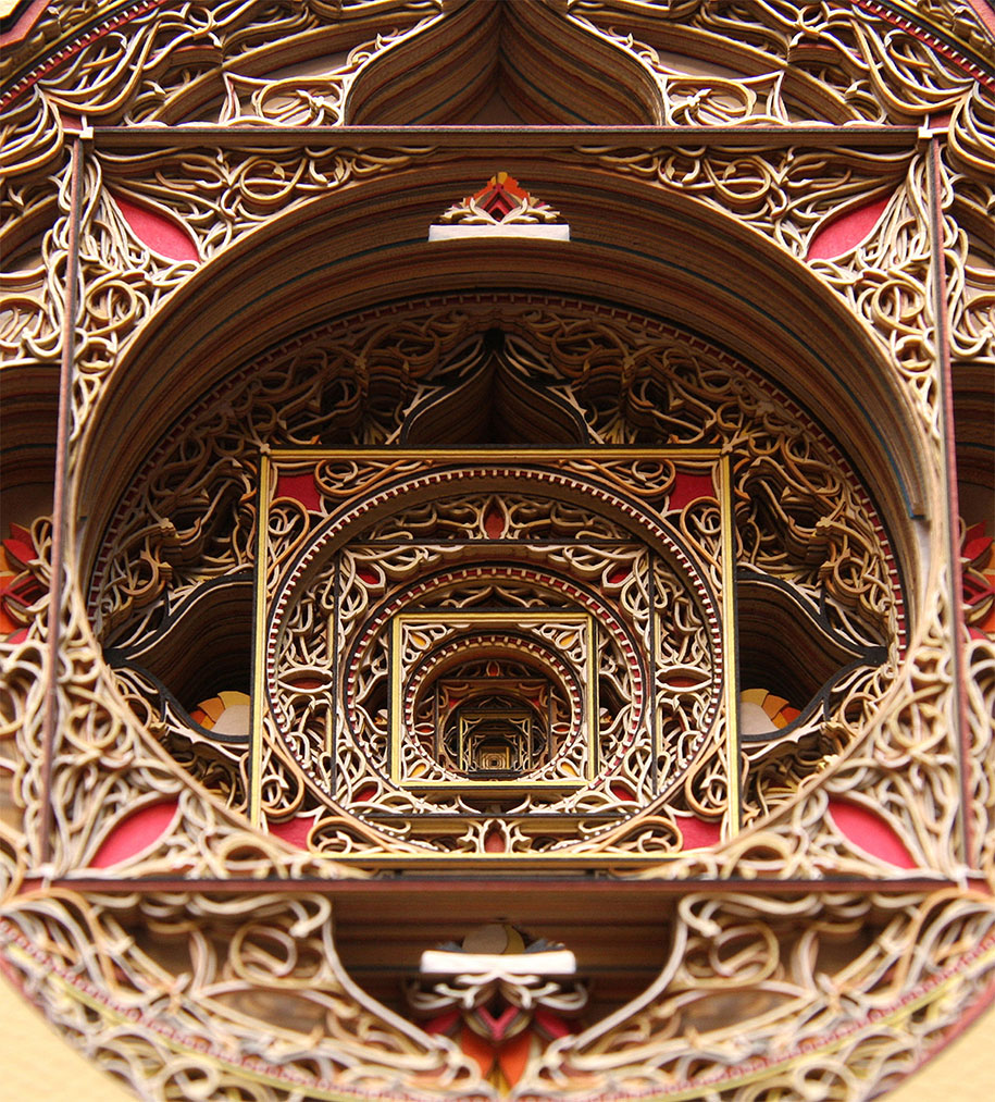 Eric Standley's Unbelievable laser cut paper sculptures (13)