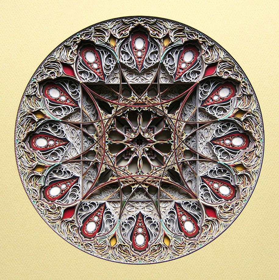 Eric Standley's Unbelievable laser cut paper sculptures (3)
