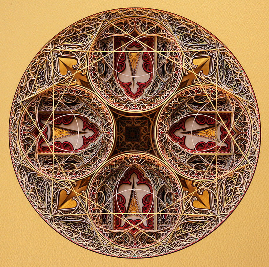 Eric Standley's Unbelievable laser cut paper sculptures (4)