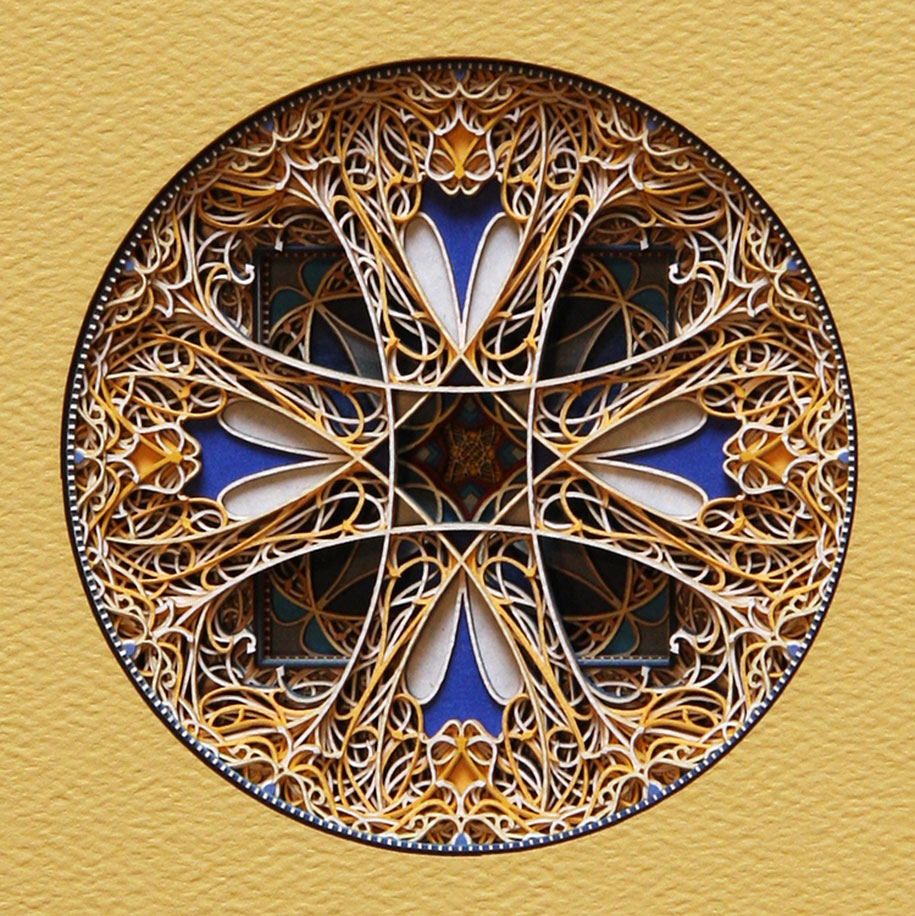 Eric Standley's Unbelievable laser cut paper sculptures (7)