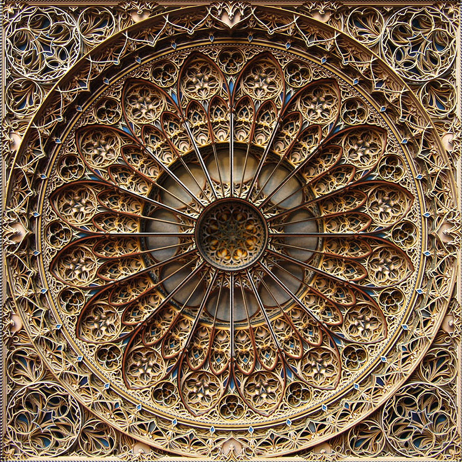 Eric Standley's Unbelievable laser cut paper sculptures (8)