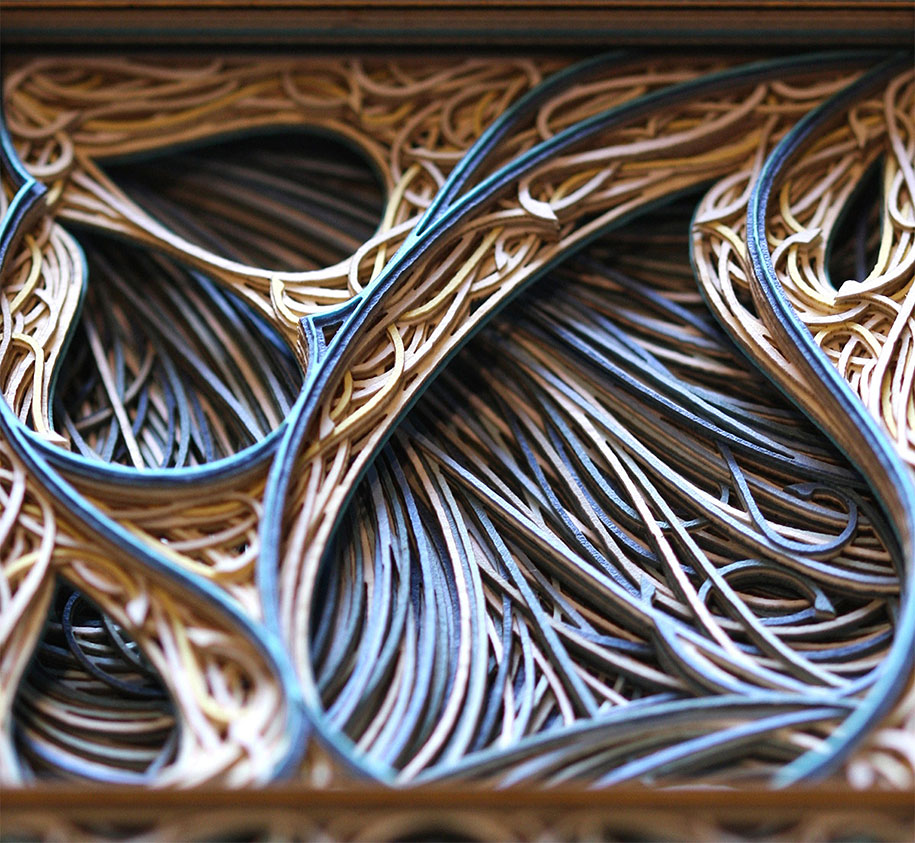 Eric Standley's Unbelievable laser cut paper sculptures (9)