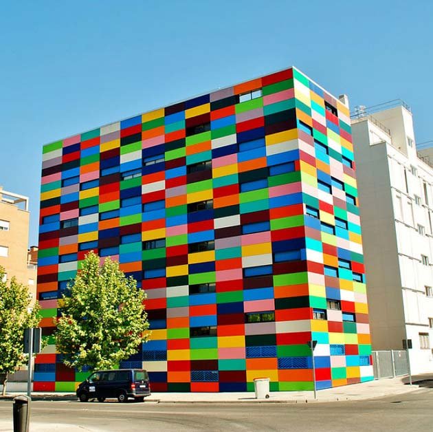 Carabanchel 24 Building In Madrid, Spain