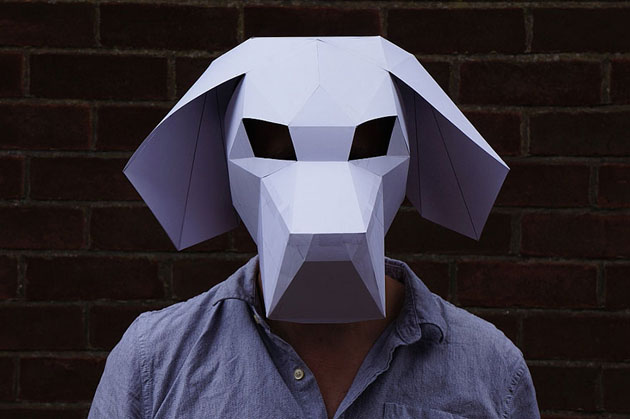 Creative Halloween Paper Masks by Steve Wintercroft (1)