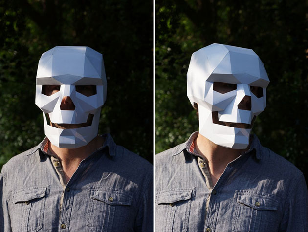 Creative Halloween Paper Masks by Steve Wintercroft (10)