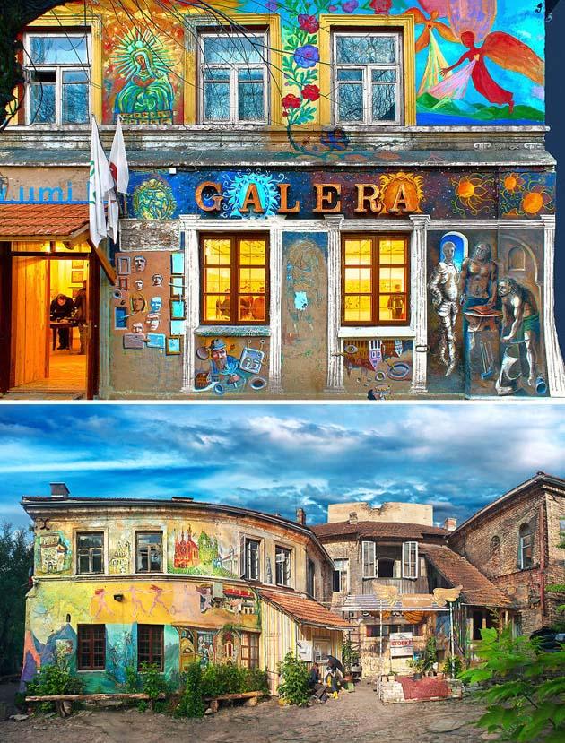 Galera - Užupis Art Incubator, Vilnius, Lithuania
