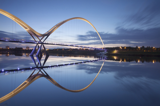 Infinity Bridge, Stockton-on-Tees, United Kingdom