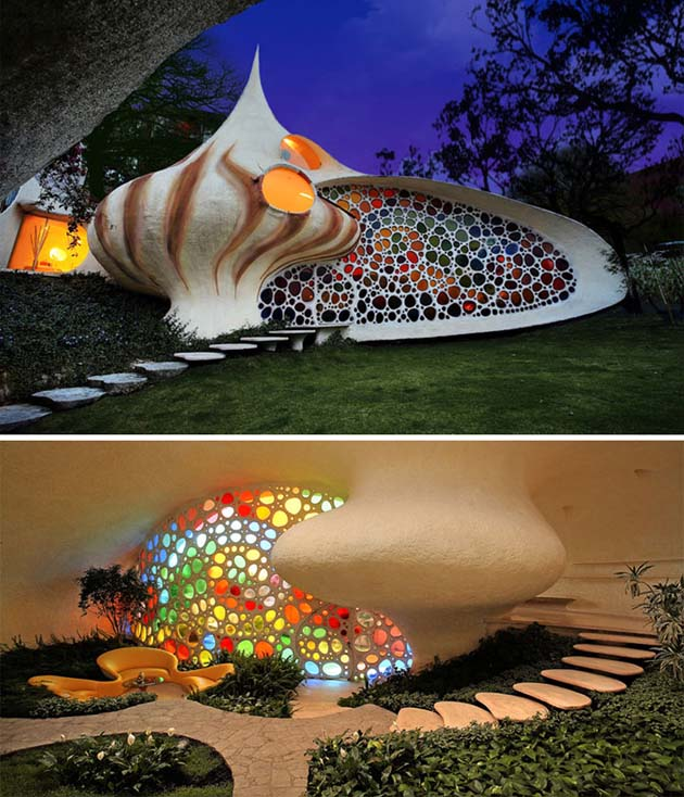 Nautilus - Giant Seashell House