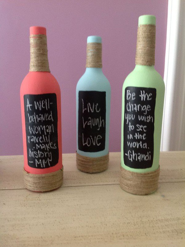 35-DIY Gorgeous Glass Bottles (20)