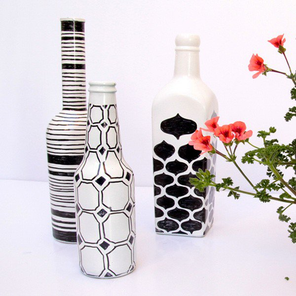 35-DIY Gorgeous Glass Bottles (9)