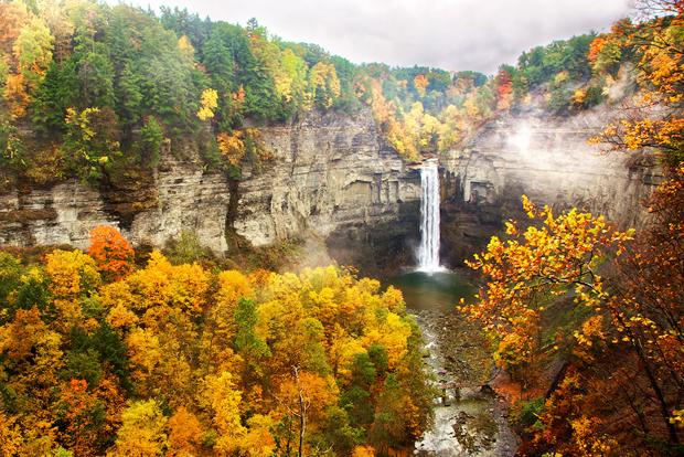 Finger Lakes - Region-taughannock-falls