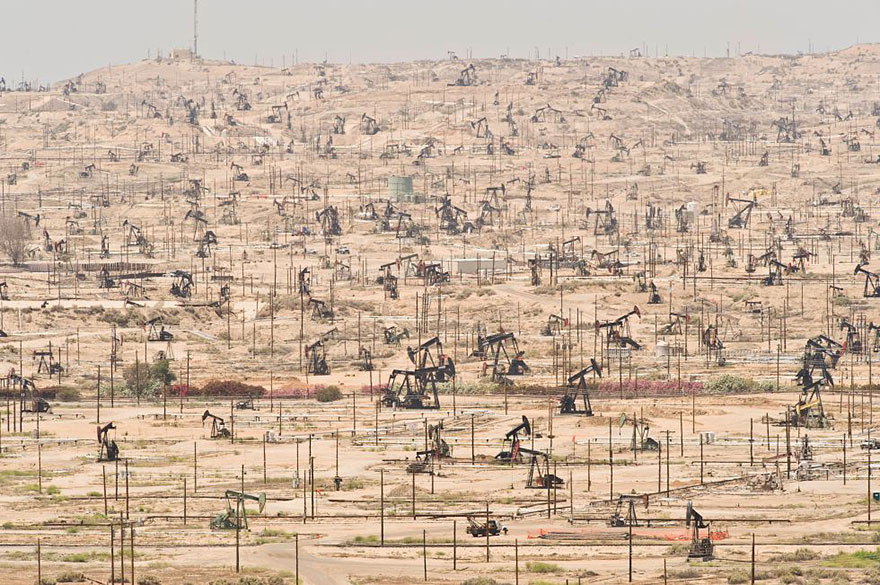 Ken River oil field, California (USA)