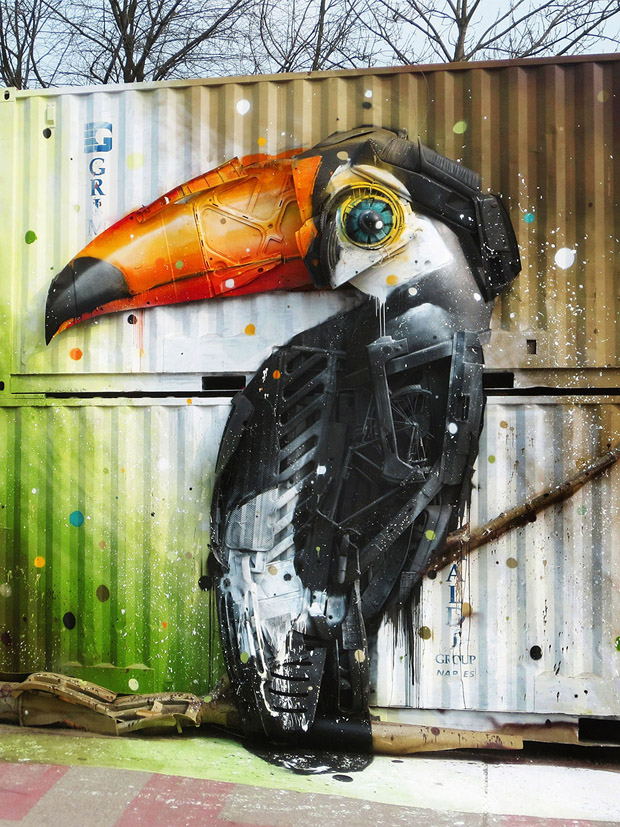 Amazing Animal Sculptures from Recycled Materials (1)