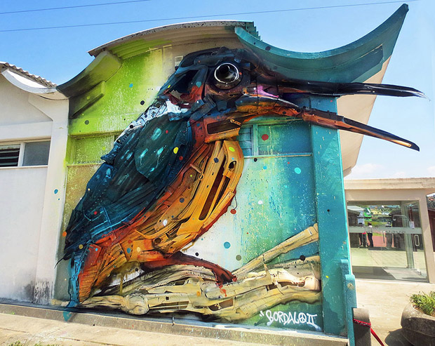Amazing Animal Sculptures from Recycled Materials (2)
