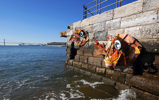 Amazing Animal Sculptures from Recycled Materials (5)