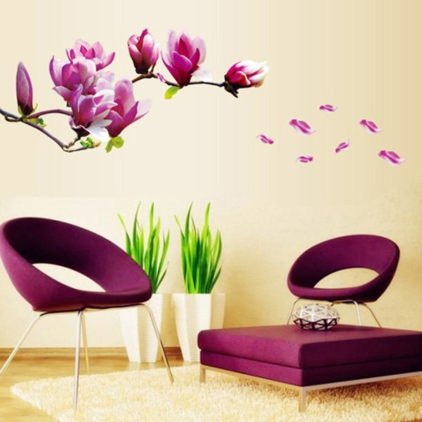 Beautiful Wall Design Ideas-Docooler®-Removable-Wall-Stickers-Art-Decals-Quotes-Wallpapers-Living-Room-Kitchen-Bedroom-Decorations-Various-Sizes-and-Paintings