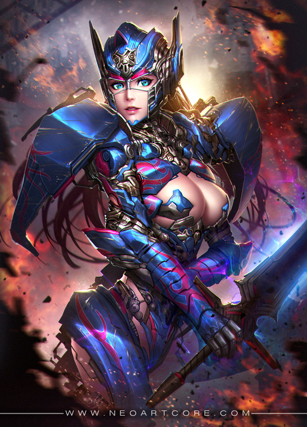 Fantasy Girl  Digital Art by Nudtawut Thongmai  (22)
