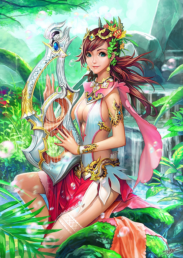 Fantasy Girl  Digital Art by Nudtawut Thongmai  (25)