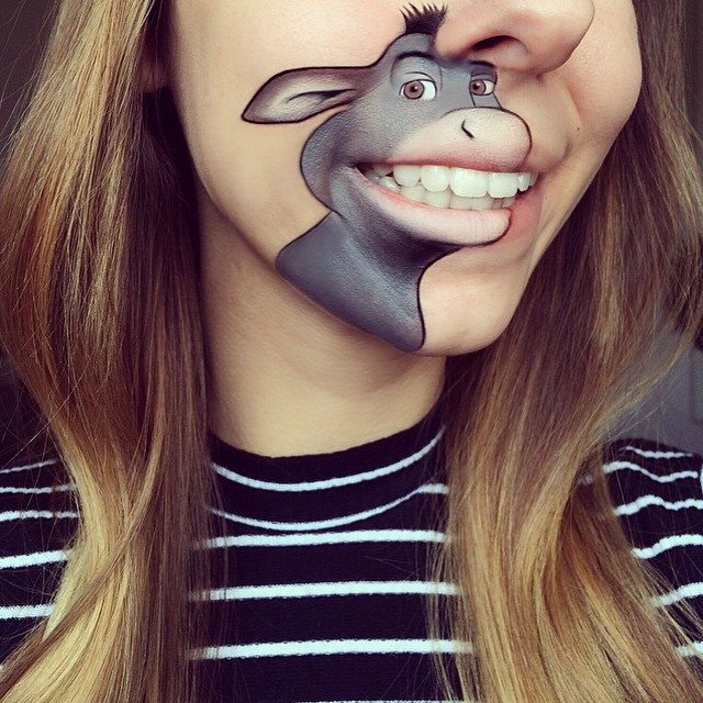 Creative Cartoon Character Lip Art By Lauren Jenkinson (18)