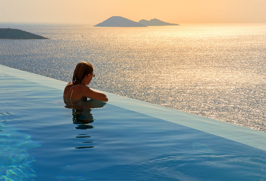 Infinity pool, Kalkan by Tibor Mester on 500px