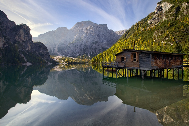 Lago di Braies by Martin Rak on 500px