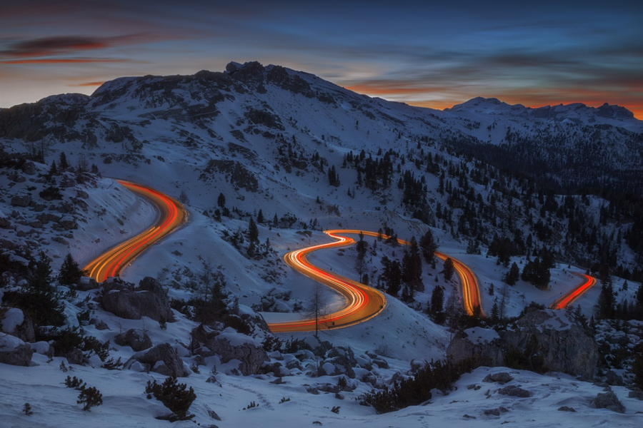 Light on the road by Dino Marsango on 500px