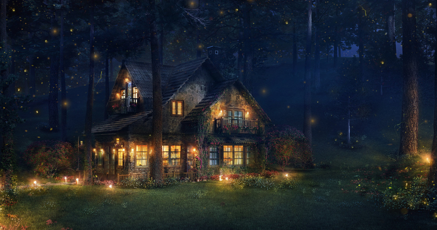 The Firefly Cottage by Ifthikhar AN on 500px