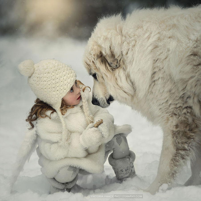 Adorable Photos kids with dog (16)