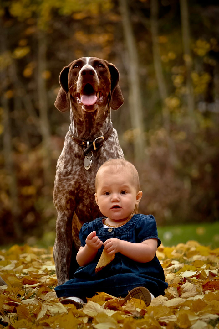 Adorable Photos kids with dog (20)