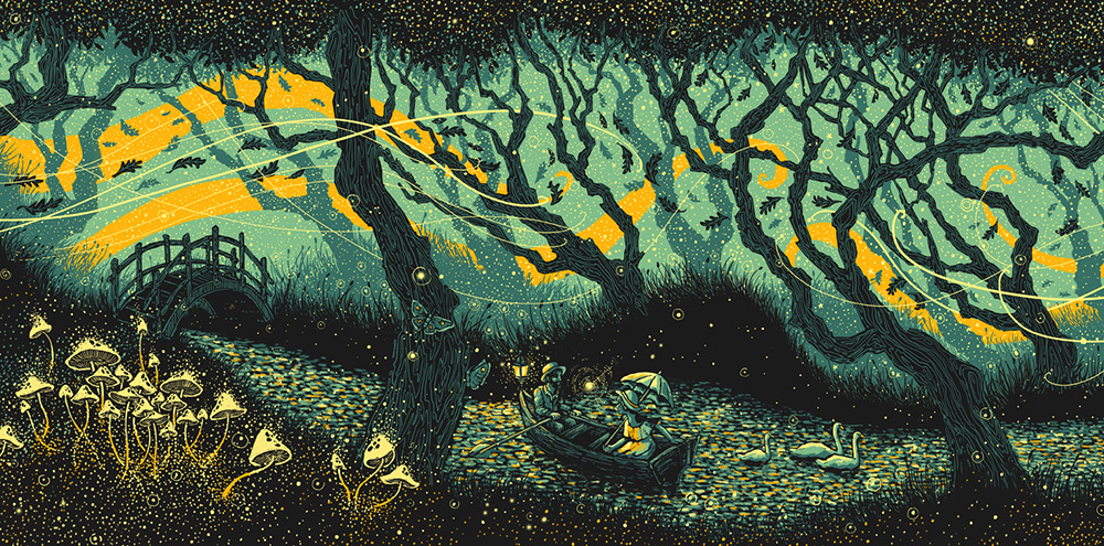 Beautiful Art Painting by James R. Eads (1)