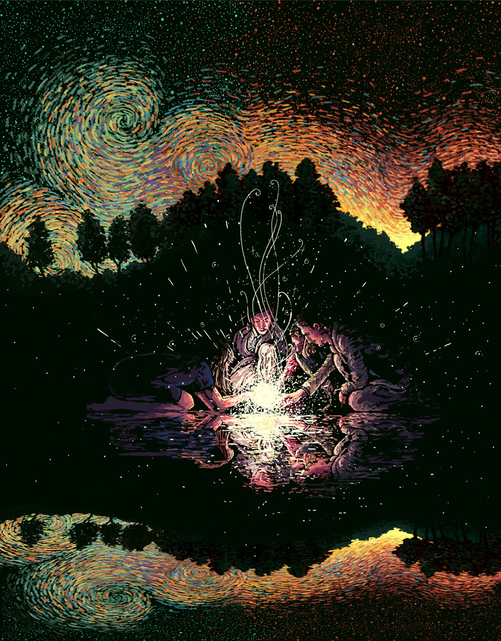 Beautiful Art Painting by James R. Eads (10)