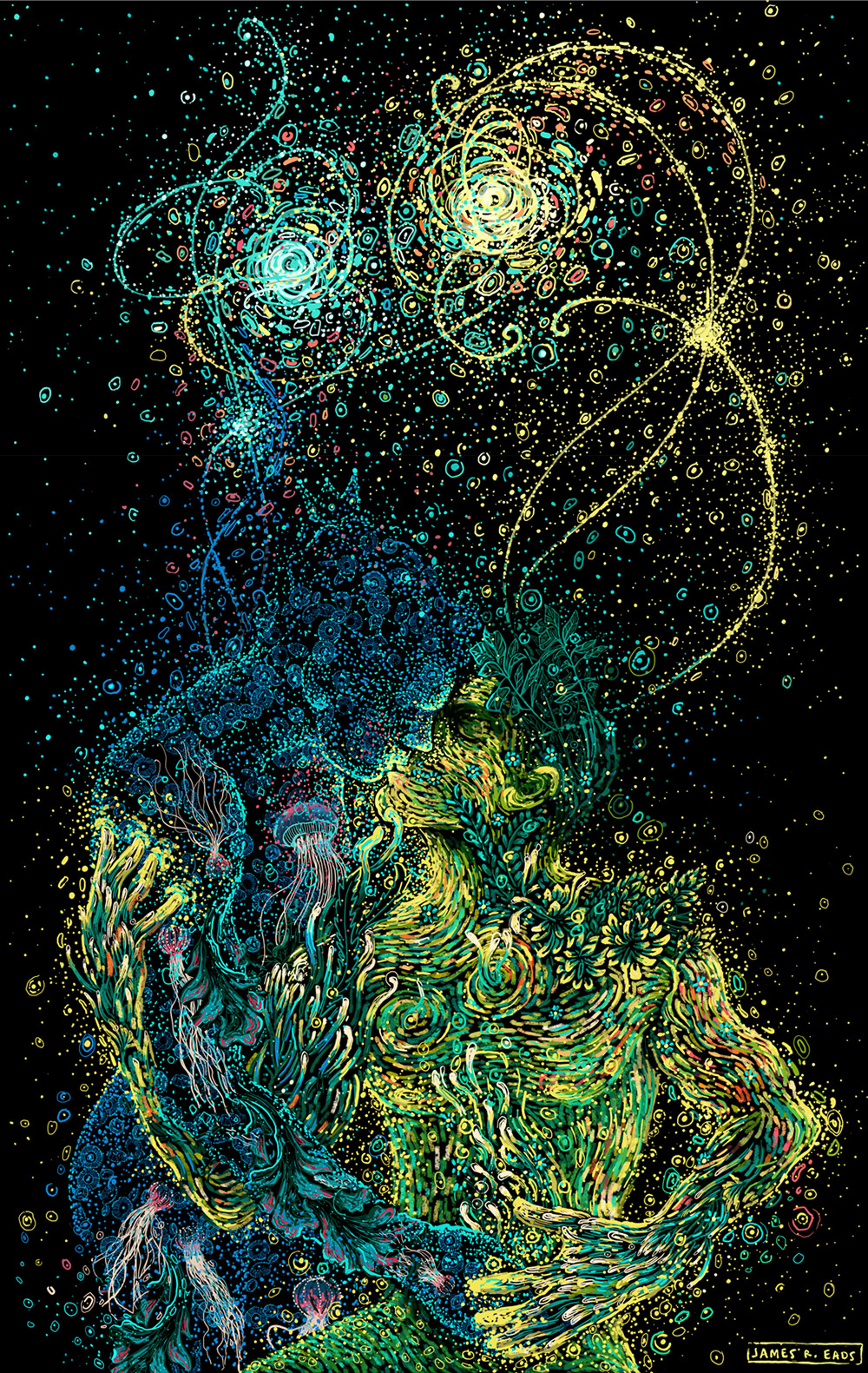 Beautiful Art Painting by James R. Eads (11)