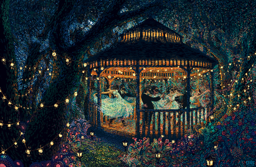 Beautiful Art Painting by James R. Eads (2)