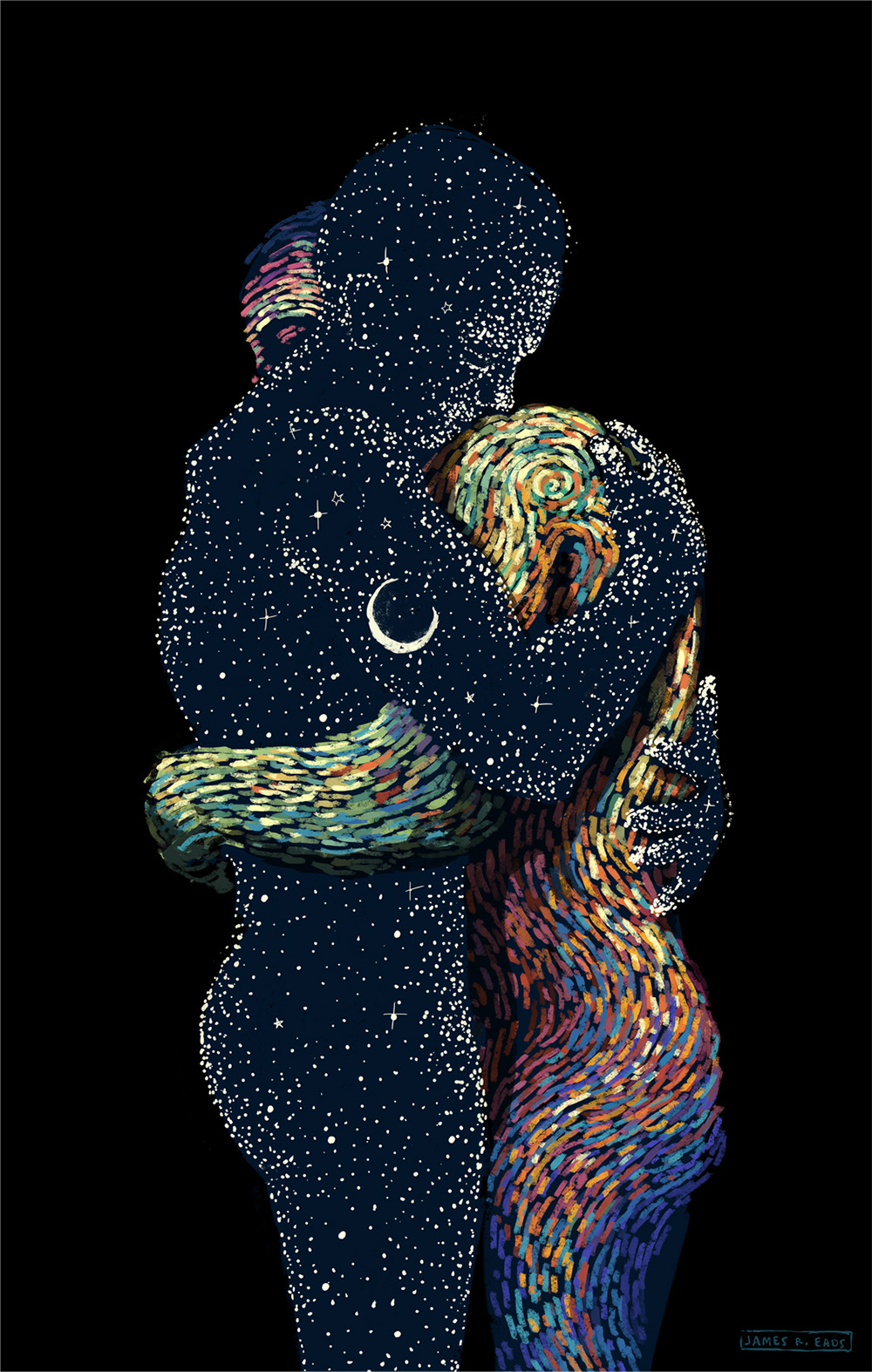 Beautiful Art Painting by James R. Eads (8)