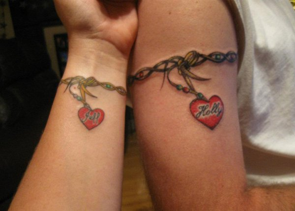 Best Matching Tattoo Ideas-Companion-matching-tattoos
