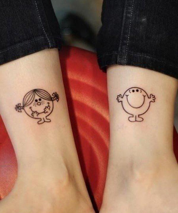 Best Matching Tattoo Ideas-cute-matching-tattoos
