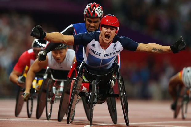 David Weir of Great Britain