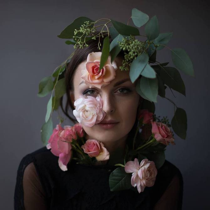 Flower Face photography by Kristen Hatgi Sink (10)