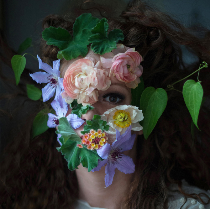Flower Face photography by Kristen Hatgi Sink (11)