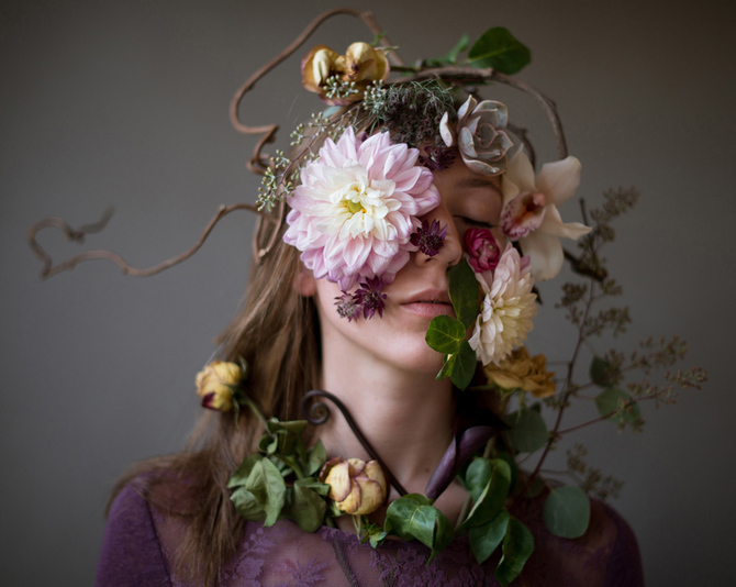 Flower Face photography by Kristen Hatgi Sink (12)