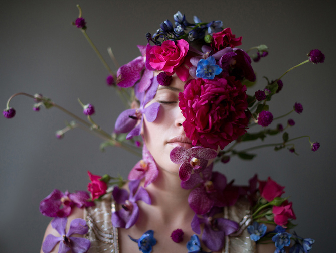 Flower Face photography by Kristen Hatgi Sink (13)