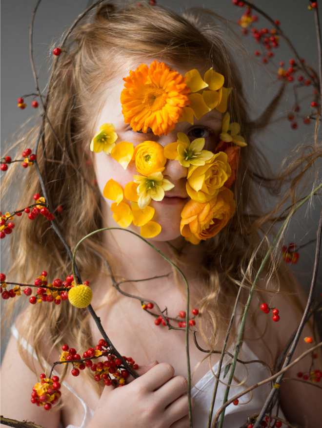 Flower Face photography by Kristen Hatgi Sink (14)