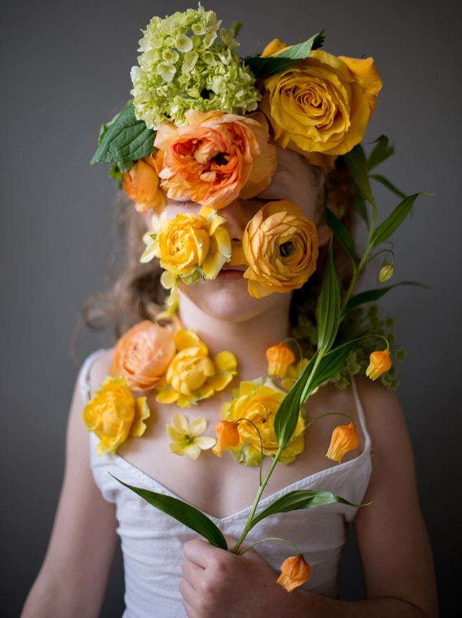 Flower Face photography by Kristen Hatgi Sink (15)