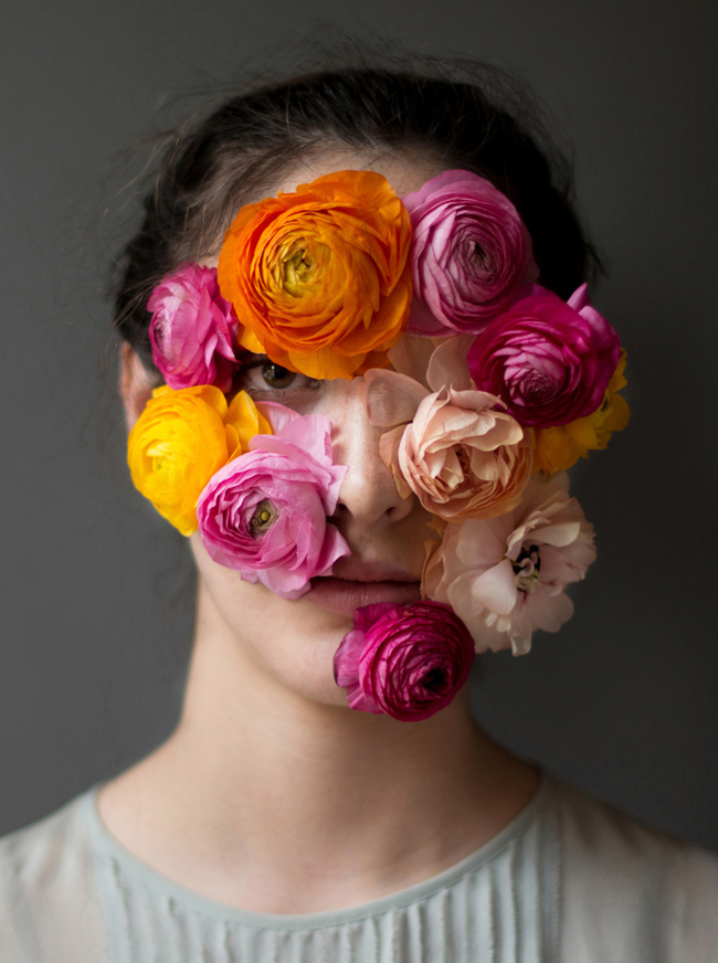 Flower Face photography by Kristen Hatgi Sink (16)