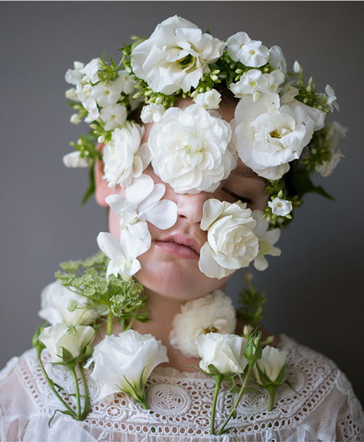 Flower Face photography by Kristen Hatgi Sink (17)