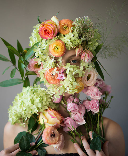 Flower Face photography by Kristen Hatgi Sink (18)