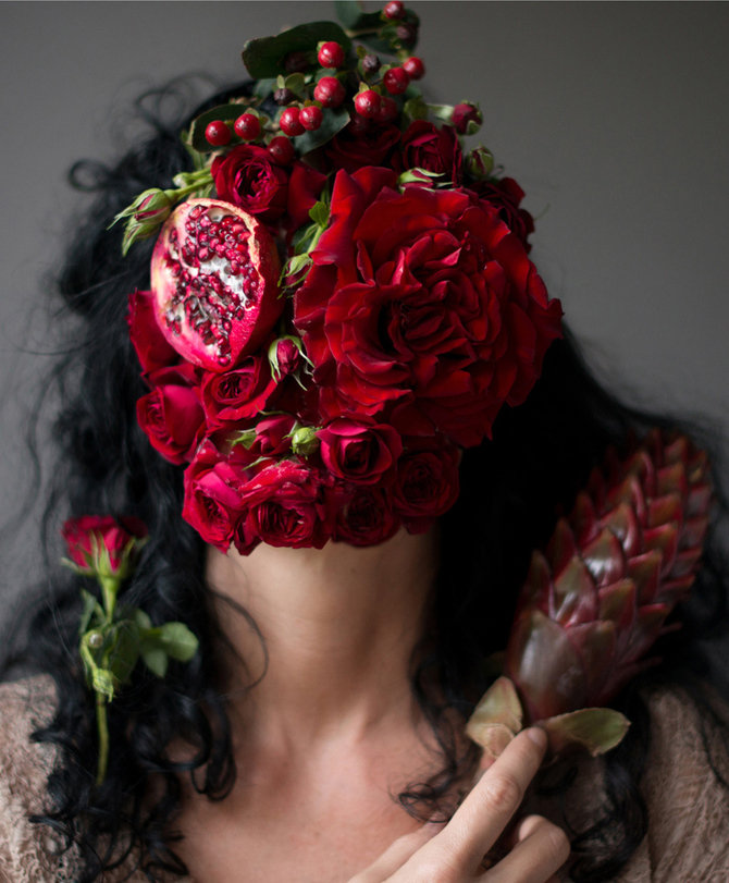 Flower Face photography by Kristen Hatgi Sink (3)