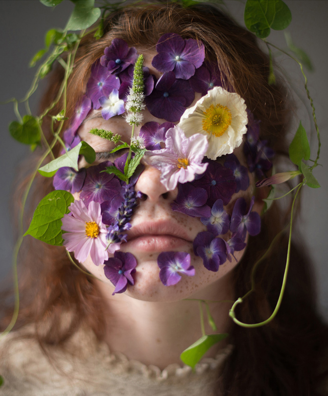 Flower Face photography by Kristen Hatgi Sink (6)